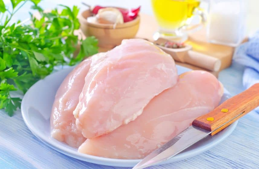 Chicken Breast Skinless ( Without Cutting)