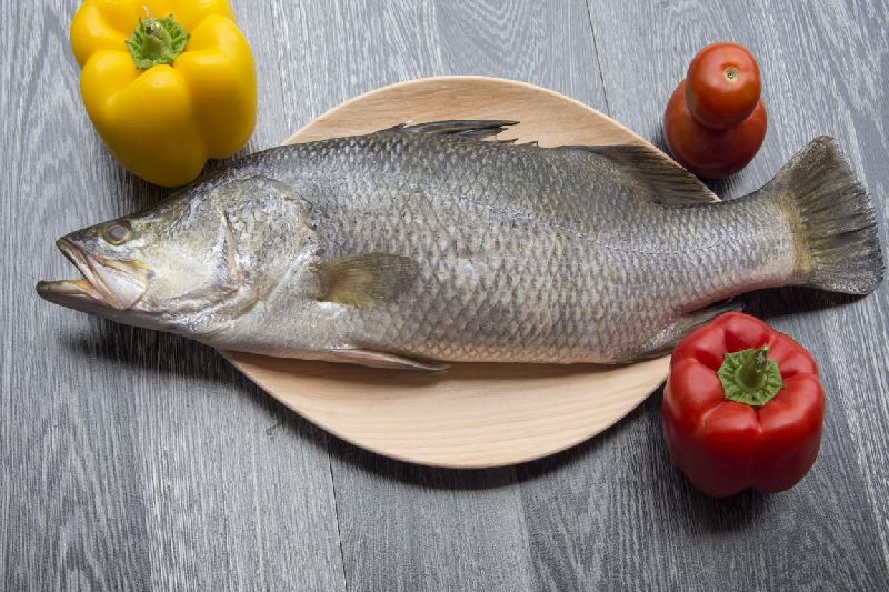 Sea Bass Whole - Cleaned ( Without Cut )