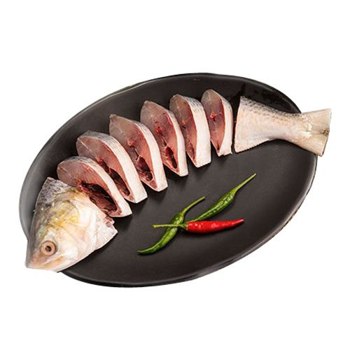 Hilsa Whole - Bengali Cut ( With Head )